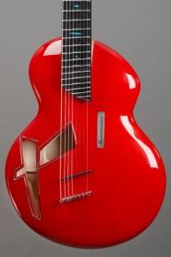 La guitare Gnossienne du luthier français Alquier