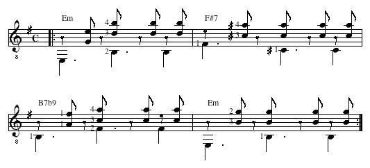 variation musique latine 3