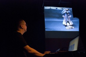 Passages Secrets : performance de Live Cinema