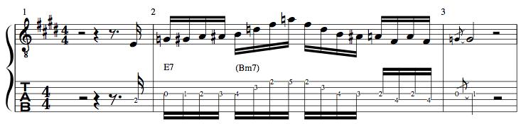 Bm7-E7