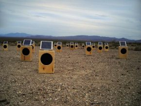 Solar Sound Boxes : a piece of Sound Art